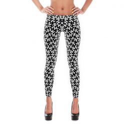 Large Pattern Gosper Curve Leggings