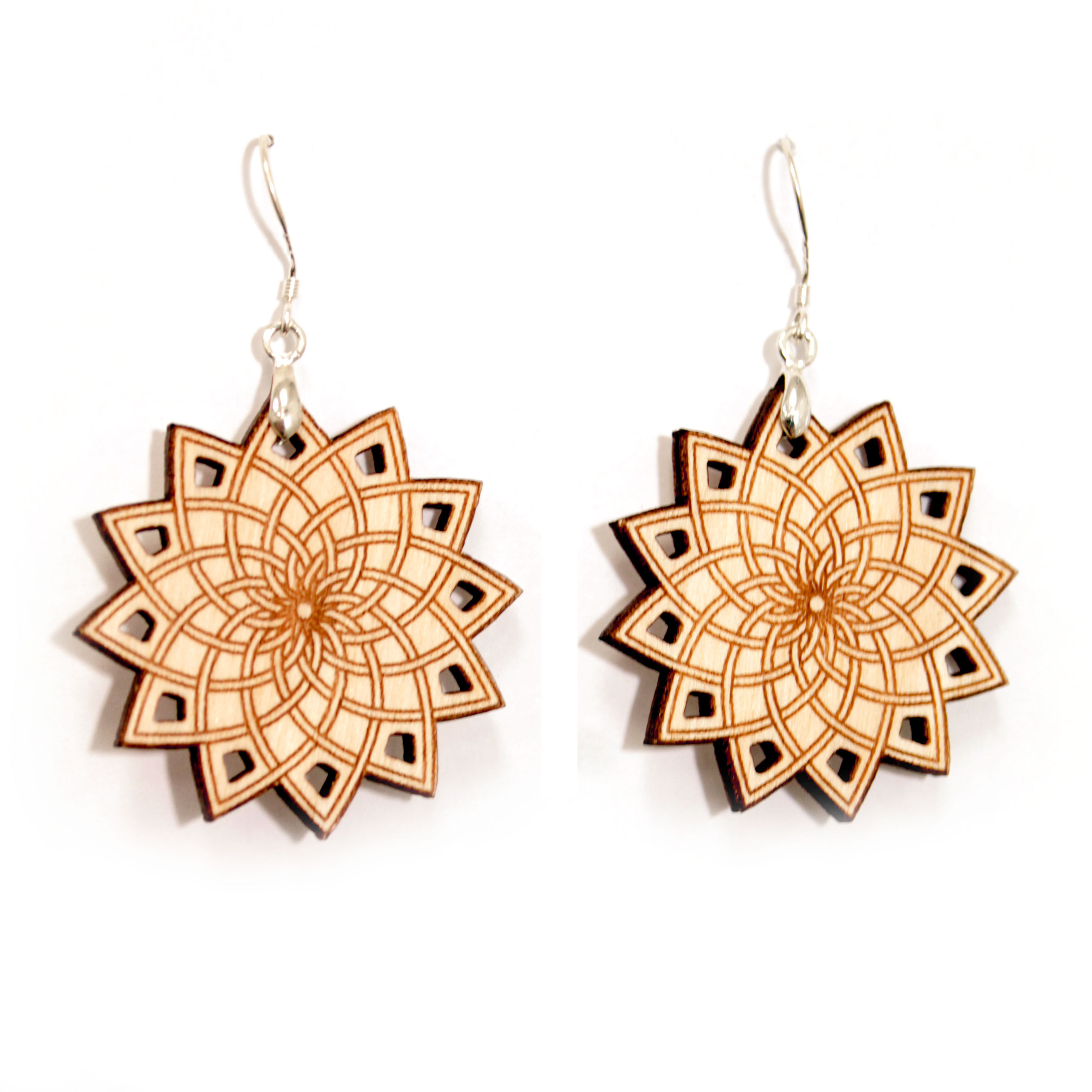 phyllotaxis earrings